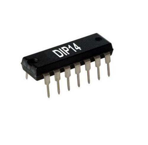 Vier UND-Gatter mit je 2 Eingängen // CMOS IC 4081 CD4081BE RCA 2St. DIP14