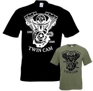 Biker-T-Shirt-TWIN-CAM-88-Motorrad-tshirt-Chopper-Bobber-Gr-S-bis-5XL