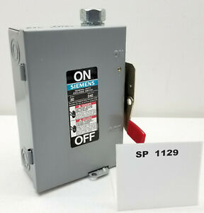 Siemens-GF221N-30A-Type-1-General-Duty-Enclosed-Disconnect-Switch-Stock-SP1129