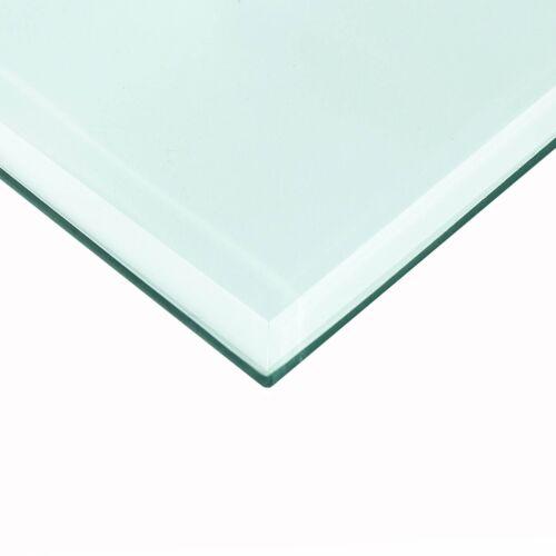Glastisch Tischplatte aus gehärtetem Glas Tisch Glasplatte Glasscheibe ESG GLAS