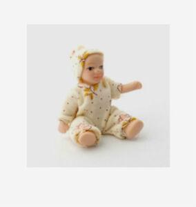 Dolls-House-Dolls-Porcelain-Baby-Doll-039-Freya-039-in-12th-scale