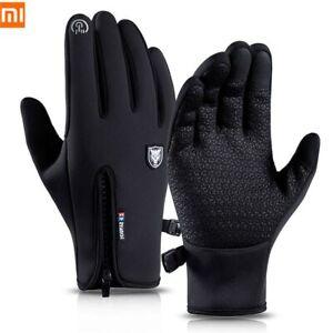 Winter Windproof Waterproof Anti-slip Thermal Touch Screen Cycling Ski Gloves UK
