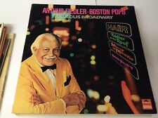 Arthur Fiedler - Boston Pops - Fabulous Broadway LP VINYL EX/EX