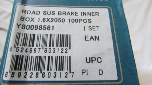 Genuine Shimano inner brake cable 1.6mm x 2050mm Y80098561 BN