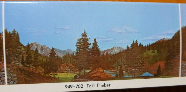 Walthers SceneMaster Instant Horizons Tall Timber Background Scene Toy