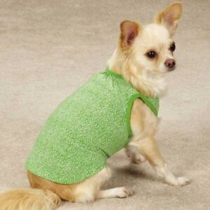 Dog Puppy Shirt Tank - Zack & Zoey - Polka Dot - Green