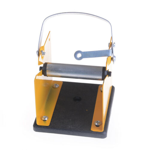 Solder Wire Holder Soldering Reel Dispenser Stand Tin Management Spool Feeder TE