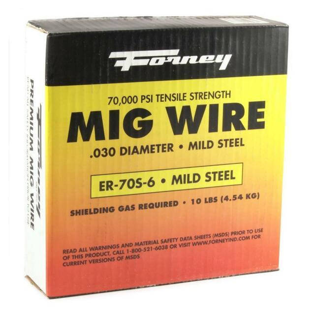 Spool Shark Welding 12001 Mild Steel Mig Wire ER70-S6 .023-11 lbs