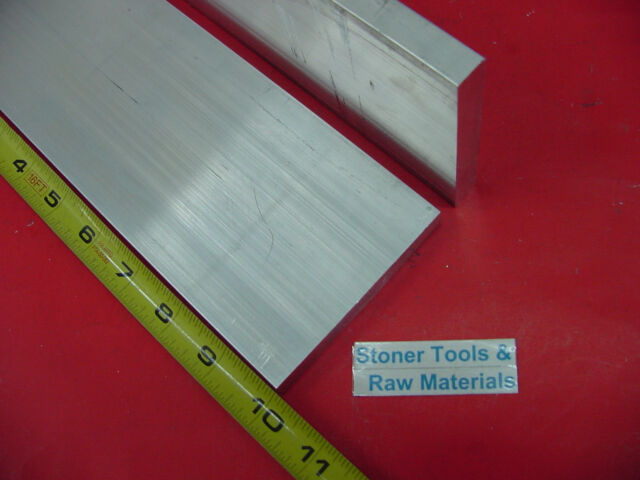 "1-1//4/"" X 5/"" ALUMINUM 6061 FLAT BAR 6/"" long Solid T6511 1.250/"" Plate Mill Stock"