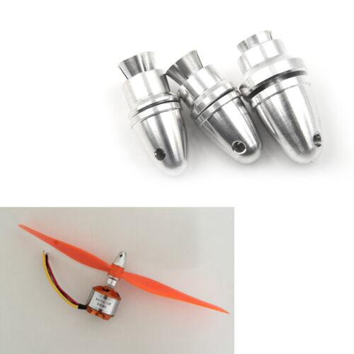 RC Aluminium Bullet Propeller Adapter Holder Brushless Motor Prop Parts AL