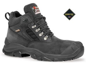 9391fc6ba5c Details about MENS U-POWER WATERPROOF GORE-TEX STEEL TOE CAP LEATHER SAFETY  WORK S3 BOOTS SIZE