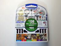 Dremel 710-04 All-purpose Accessory Kit 160 Pieces $130 Value