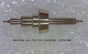 WALTHAM 14s 7354 7355 BALANCE STAFF For Model 1874,1884
