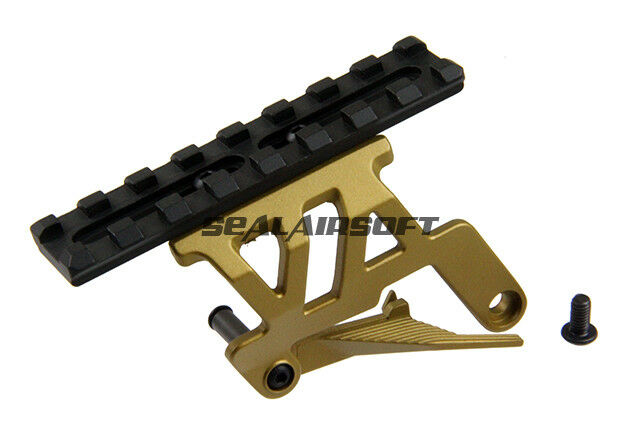 5KU Airsoft Toy Rail Mount Base For TM Hi-Capa GBB (gold) 5KU-GB458-GD