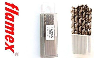 5pcs cobalt drill bit 5.6mm M35 HSS Co steel alloys Straight Shank Twist Drill