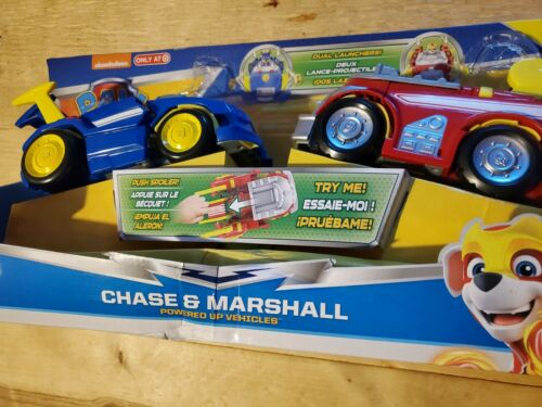 2-Pack no figures Spin Master Kids/' Marshall and Chase Powered Up Vehicle Toy