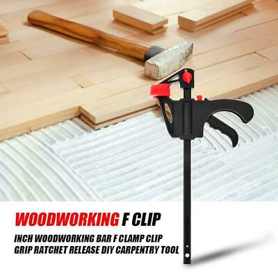 """4Pcs Quick Grip 4/"""" F woodworking Clamp Clip Heavy Duty Wood Carpenter Tool Clamp"""