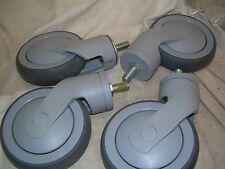 TENTE 125x32 CASTORS 1/2  THREAD LOT OF (4pcs) ... & TENTE 125X32 Castors Lot of (4pcs) USA   eBay