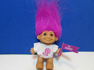 "NEW WITH RUSS STICKER EASTER WACKY WABBIT MAGNET 2/"" Russ Troll Doll"