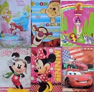 XL Disney Fleecedecke 150x100 Decke Reisedecke Kinderdecke Tagesdecke Bettwäsche