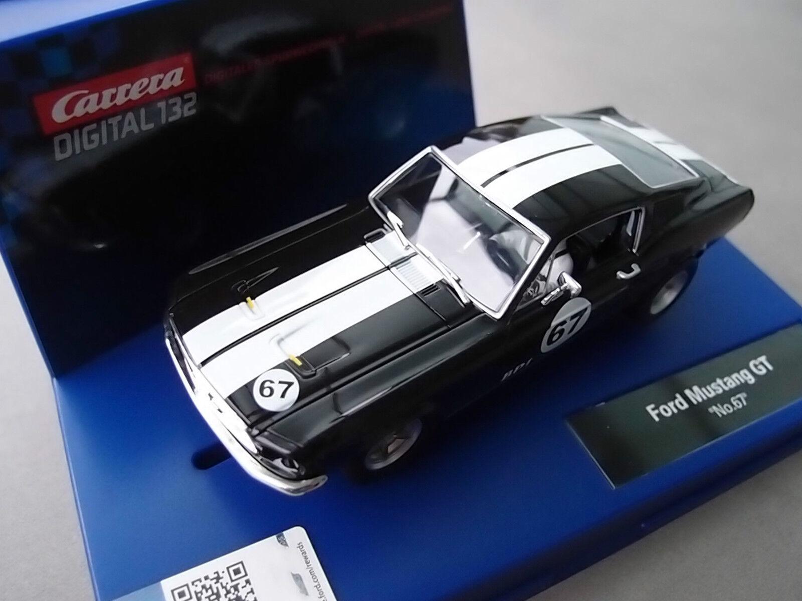 Carrera Digital 132 30670 Ford Mustang Gt 1967 LUCE USA