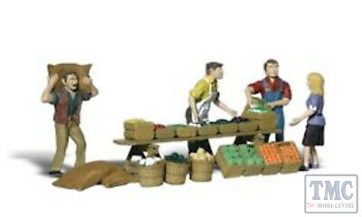 A2750 Woodland Scenics Painted Figures O Farmers Market