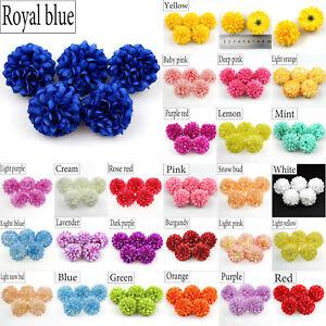 10-20X-Artificial-Silk-Daisy-Silk-Spherical-Bulk-Flowers-Heads-DIY-Bouquets-Deco