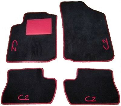 4 block CITROEN C2 TAPPETI tappetini AUTO 4 decori