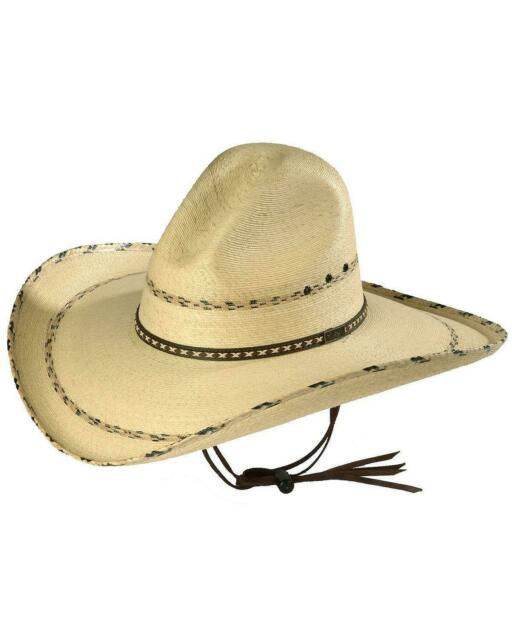 Larry Mahan 6X Real Fur Felt Cowboy Hat White Size 6 5//8 Brim 3 1//2