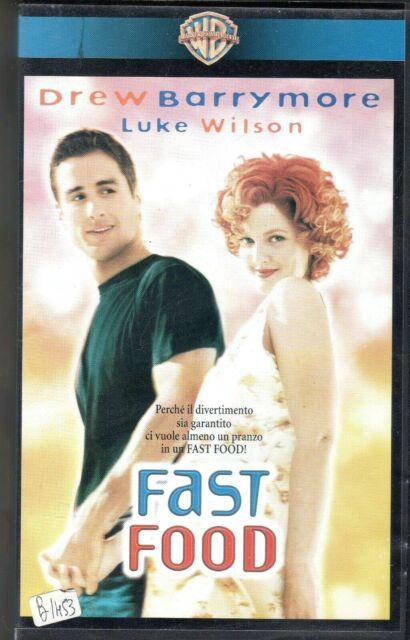 Fast Food (1997) VHS Warner exnolo Drew Barrymore  Luke Wilson  Dean Parisot