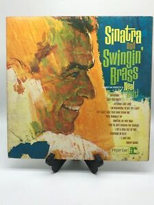 FRANK-SINATRA-And-Swingin-Brass-NM-REPRISE-R-1005-JAZZ-33-RPM-LP
