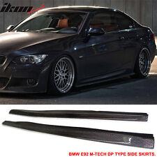 07-10 BMW E92 2Dr M-Tech M Sport Only DP Style Side Skirts Carbon Fiber CF