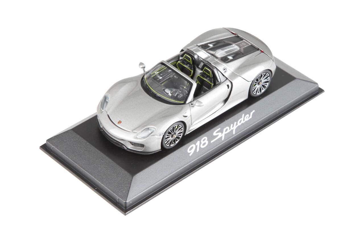 punto de venta barato Porsche modelo coches de Spyder 918 1 43 WAP0201000E WAP0201000E WAP0201000E  en stock
