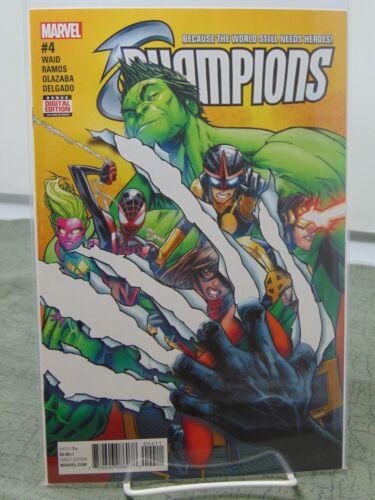 Champions #4 004  Marvel Comics vf//nm CB1838