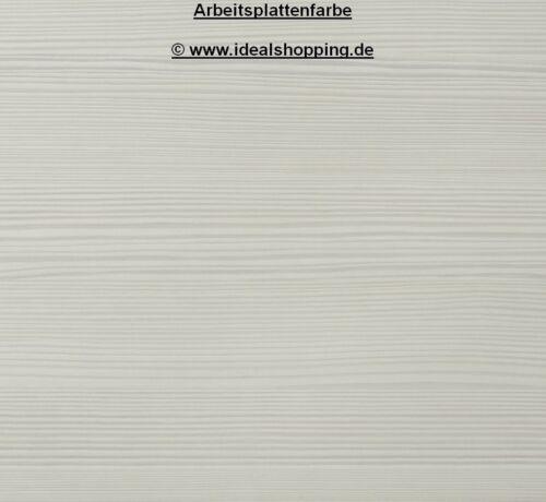 Schubladenunterschrank 60 cm breit mit Arbeitsplatte U636-9