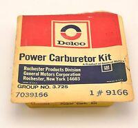 Delco Power Carburetor Kit 1970 Chevrolet Gm 6 Cylinder 7039166 9166