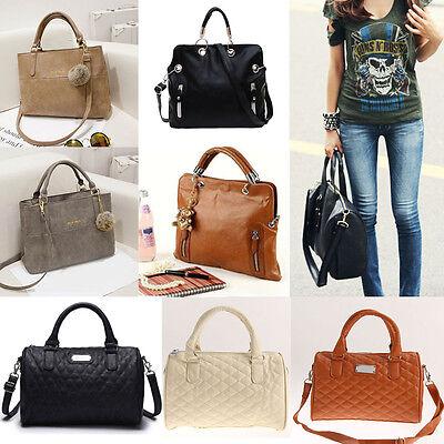 Women Handbag Shoulder Bags Tote Purse PU Leather Crossbody Messenger Hobo Bag