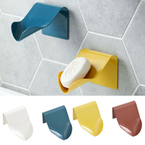 Soap Sponge Drain Rack Bathroom Holder Kitchen Storage Suction Cup Sink Shelf