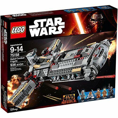 Lego Estrella Wars 75158 fragata para la Alianza rebelde de combatf S