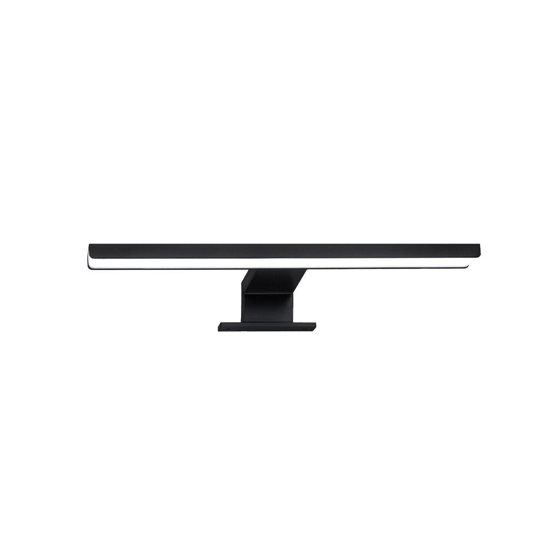 LED Spiegelbeleuchtung Badleuchte Spiegellampe BP002P 60cm schwarz LED Spot