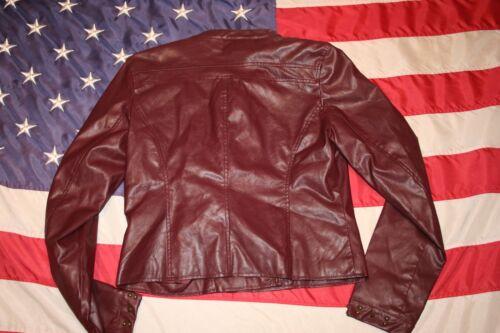Maroon Størrelse retro 5757 Frakke Blazer Vintage Envelope Pink Jacket militær Large S6qEpX