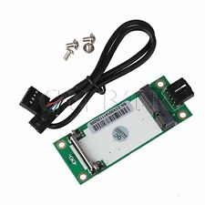 Mini PCI-E to USB With SIM Card Adapter 90 Degree Compatible 3G Network Card