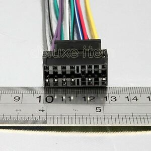 s l300 pioneer car radio 16 pin wiring harness adaptor loom ebay wiring harness adapter at reclaimingppi.co