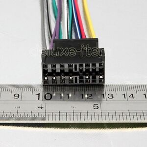 s l300 pioneer car radio 16 pin wiring harness adaptor loom ebay wiring harness adapter at metegol.co