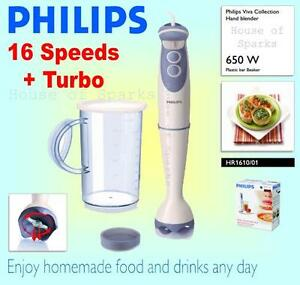 Philips 650w Turbo Double Action Blade Compact Hand Blender