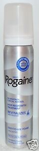 NEW-MEN-039-S-ROGAINE-UNSCENTED-FOAM-MINOXIDIL-HAIR-REGROWTH-TREATMENT-ONE-MONTH