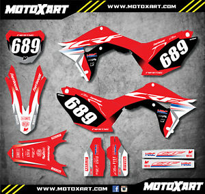 2012 stickers Full Custom Graphic Kit DIGGER Style fits Honda CRF 450-2009