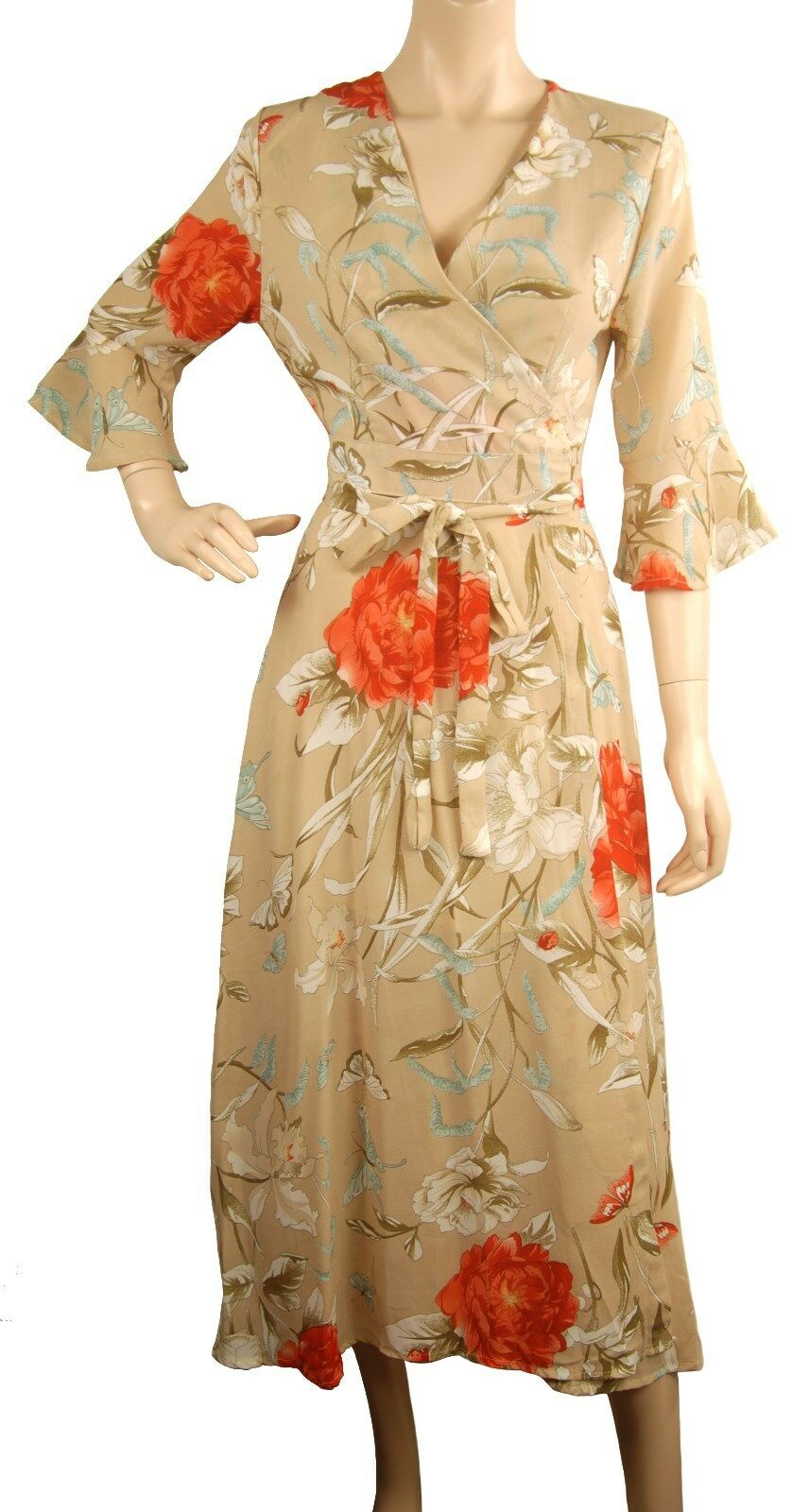 Beautiful ConMiGo A01510 long maxi flora dress