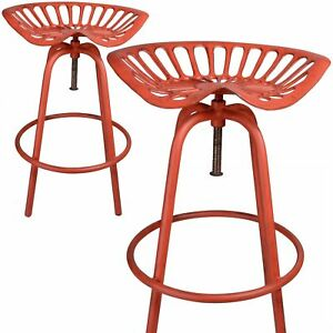 Remarkable Details About Esschert Design Traktorstuhl Red Bar Stool Chair Garden Chair Stool Vintage Gmtry Best Dining Table And Chair Ideas Images Gmtryco