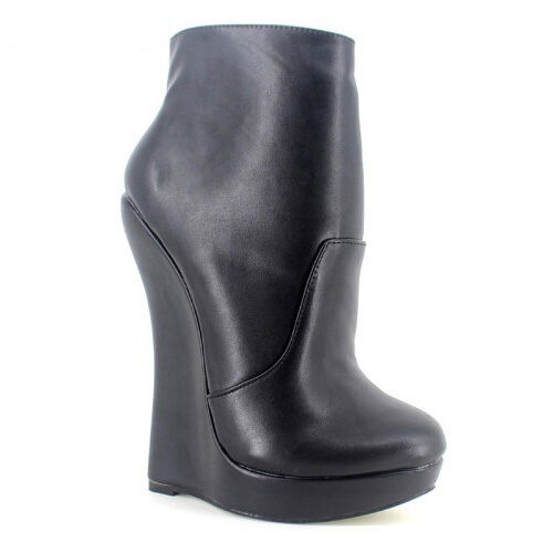 WOMEN SHOES LADY GAGA ANKLE BOOTS 7.2